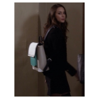 bag spencer hastings pretty little liars blue white