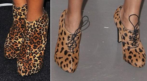 shoes leopard print heels pumps