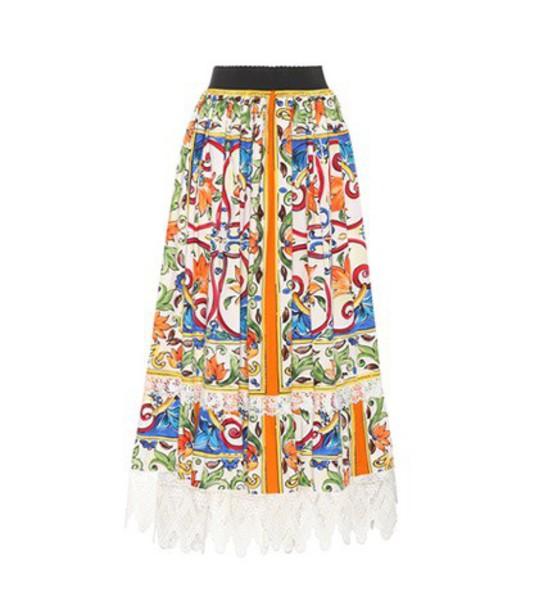 Dolce & Gabbana skirt cotton