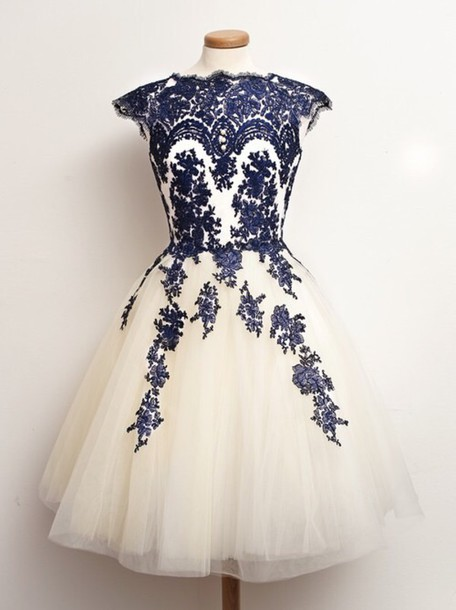 74f55f2f6238 White dresses for girl  White dress with blue lace