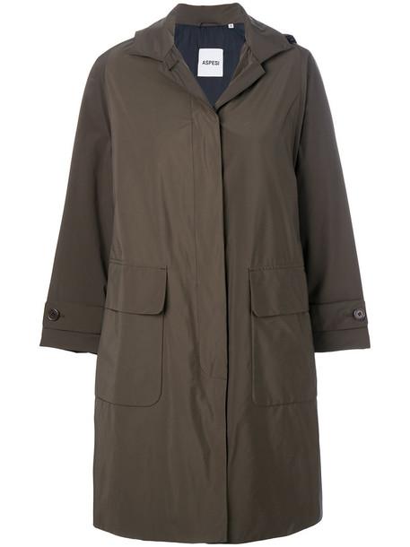 ASPESI coat women green