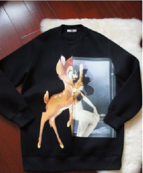 givenchy sweater bambi