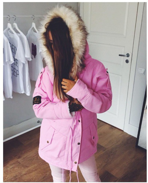 coat girly tumblr pink fur fur coat fur jacket faux fur