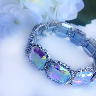 jewels ishopcandy bracelets aurora iridescent evening bracelet colorful colorful bracelet
