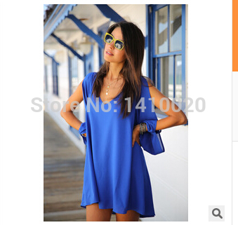 2014 Summer New Sexy Women Dresses Casual boho Chiffon Celebrity Mini White black Plus size party club beach vestidos sundress-in Dresses from Apparel & Accessories on Aliexpress.com | Alibaba Group
