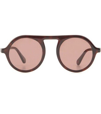 embellished sunglasses round sunglasses brown