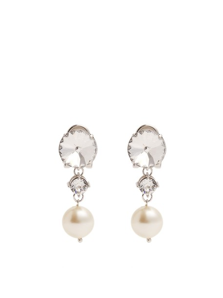 Miu Miu pearl earrings jewels