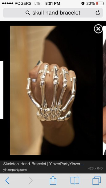 jewels skeleton hand jewelry bracelets