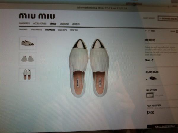 shoes miumiu