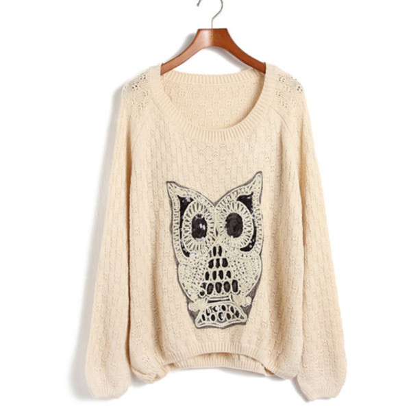 sweater owl sweater