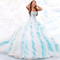 Buy stunning ball gown multi color ruffles organza beading sequined custom made 2016 new arrival quinceanera dresses with jacket in cheap price on m.alibaba.com