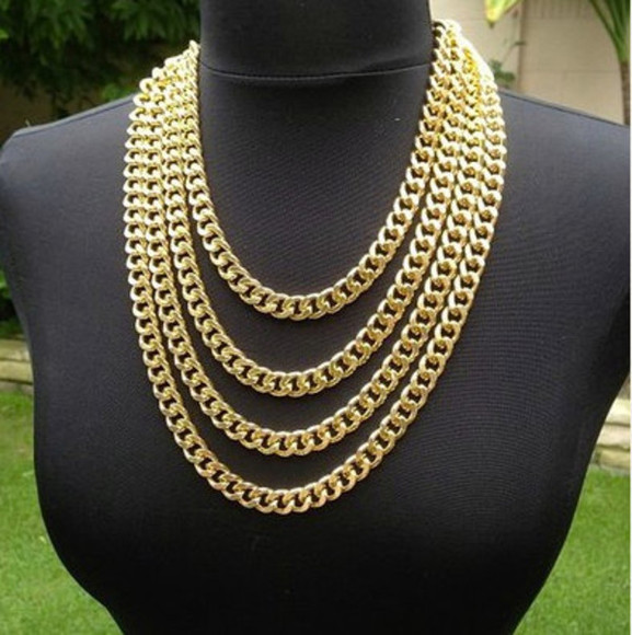 jewels necklace gold gold necklace chunky necklace gold chunky necklace gold chain necklace gold chain chain necklace