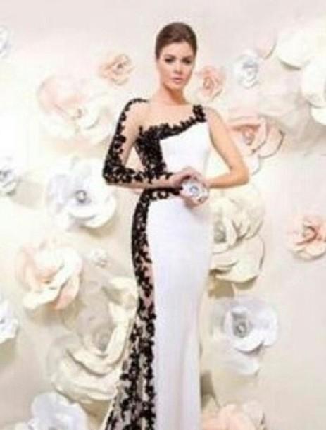 White Lace Dress Dress White Black Wedding Lace