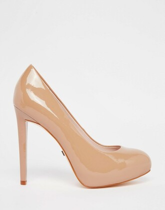 shoes nude shoes nude pumps patent shoes high heels