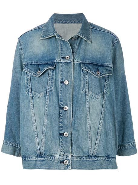 jacket denim jacket oversized denim jacket denim oversized women cotton blue