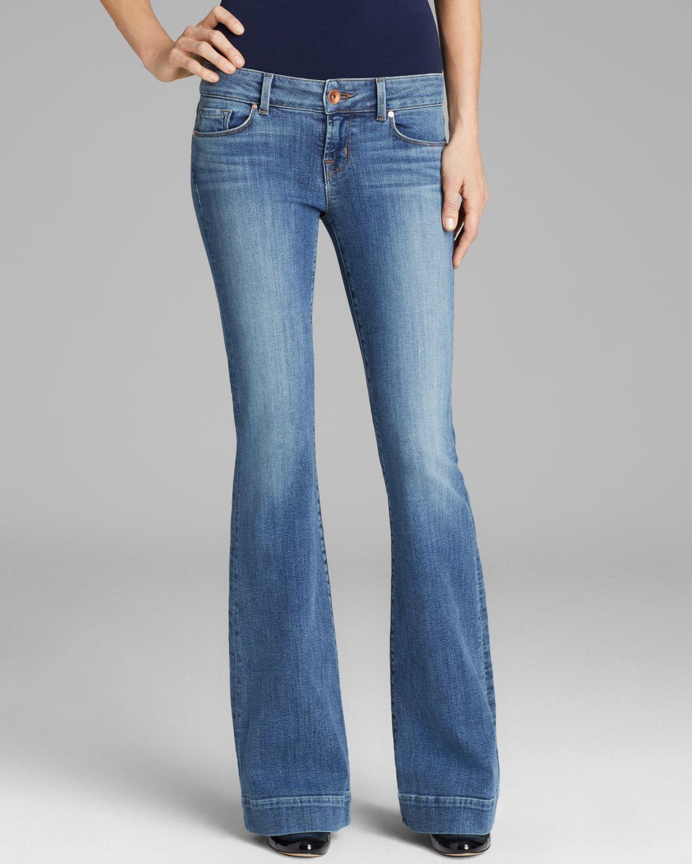 J Brand Jeans - 722 Love Story Flare in Cosmic | Bloomingdale's