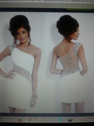 dress prom dress tight dress white dress prom