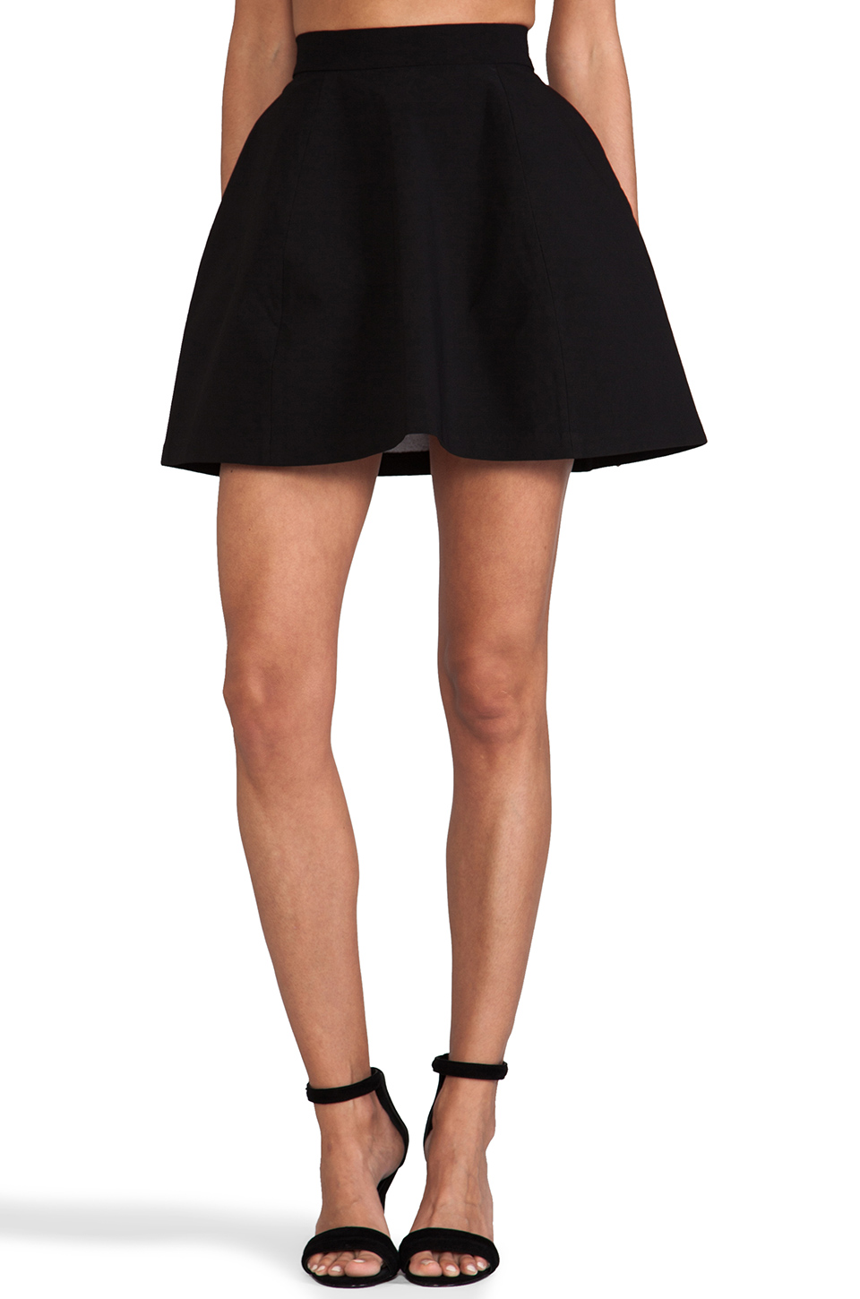 AQ/AQ Shade Mini Skirt in Black | REVOLVE