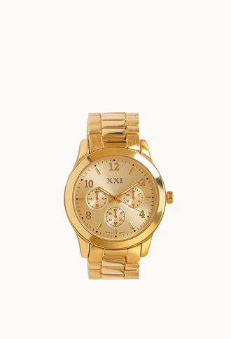 Classic Oversized Watch   FOREVER21 - 1061712466