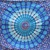 PRIYA Blue Mandala Tapestry