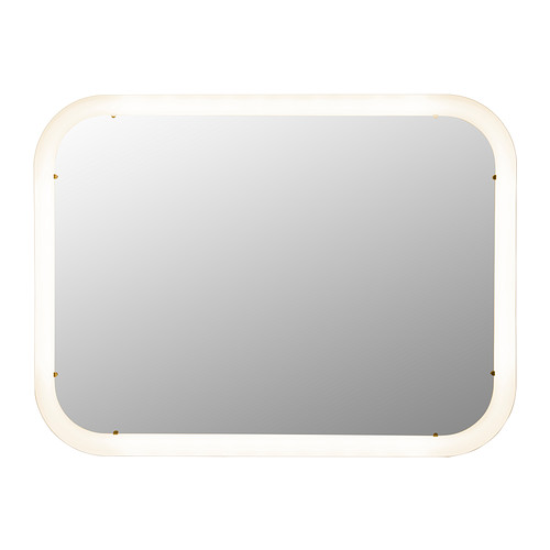 STORJORM Mirror with built-in lighting - IKEA