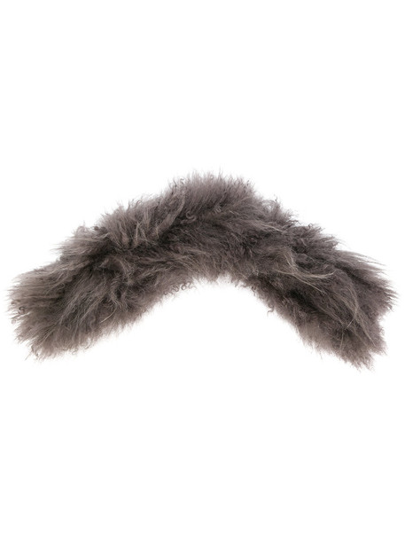 Valextra fur women bag grey