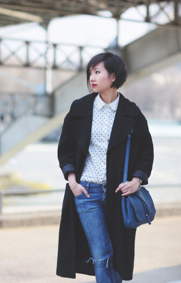 le monde de tokyobanhbao coat jeans shirt jewels shoes bag