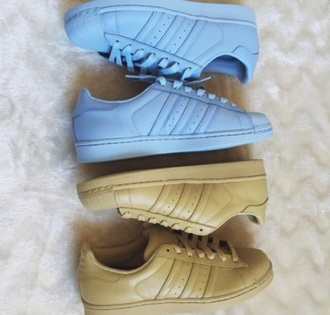 shoes baby blue adidas