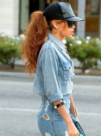 blouse urban denim denim shirt