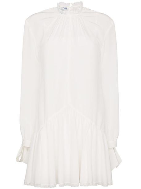 Prada dress women white silk