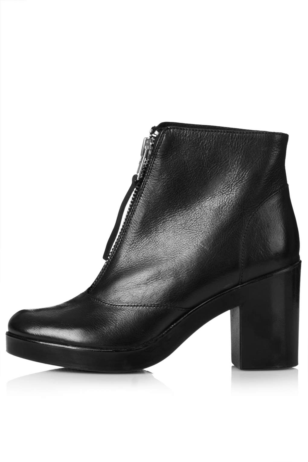 MAGIC Front Zip Boots - Ankle Boots - Boots - Shoes
