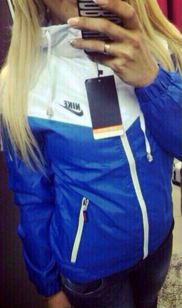 blue and white nike jacket Sale ,up to