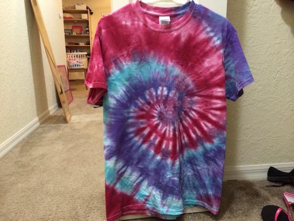 tie dye tie dye shirt