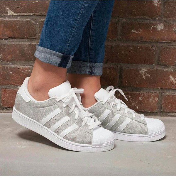 superstar adidas white grey. Black Bedroom Furniture Sets. Home Design Ideas