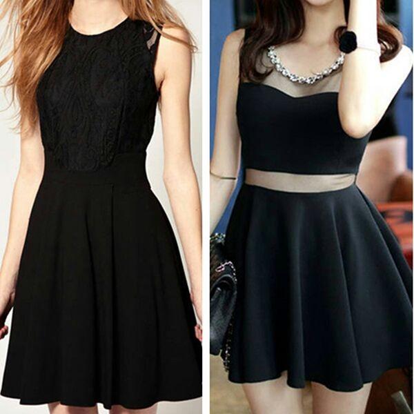 dress cute dress girly little black dress