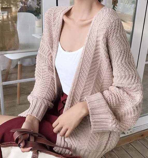 cardigan girly oversized cardigan oversized knitwear knit knitted cardigan