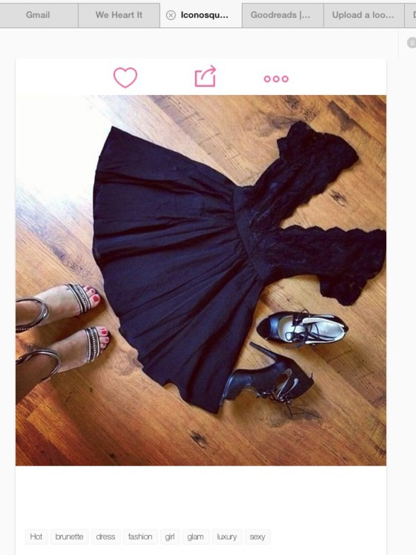 dress weheartit black black dress