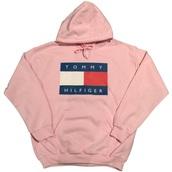 shirt,tommy hilfiger,pink,pink tommy hilfiger,hoodie,tommy hilfiger hoodie,sweater,tommy hilfger