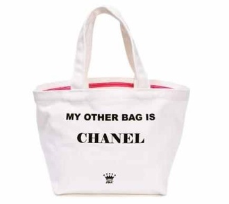 bag my other bag is chanel