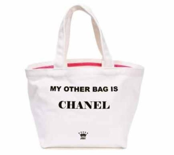my other bag is chanel bag