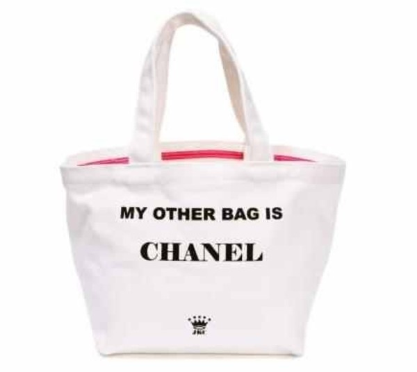 bag my other bag is chanel chanel