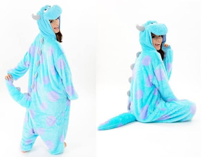 Hot New Adult Animal Onesie Monster's Sully Onesies Halloween Clothing Cosplay Costume Pajamas-in Costumes from Apparel & Accessories on Aliexpress.com | Alibaba Group
