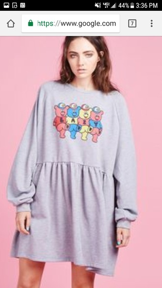 dress lazy oaf bear dress dupe oversized aliexpress