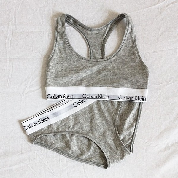 underwear calvin klein fashion top
