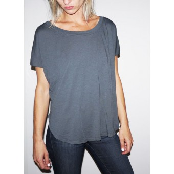 Tailed Crop- Vintage Charcoal