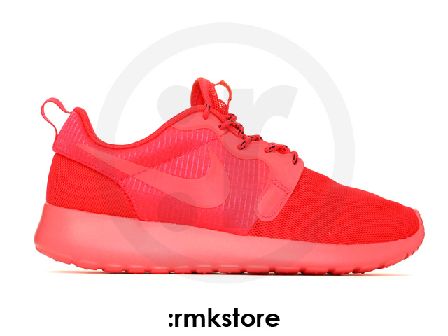 Nike wmns roshe run rosherun hyperfuse monochromatic pack laser crimson red october (642233