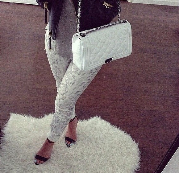 snake print snake print pants gret denim dressy party shoes pocket book