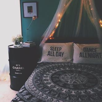 home accessory boho black white hipster indie bedding duvet