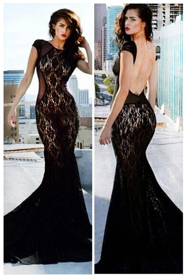women dress long dress blackless dress evening dress evening dress fashion dress