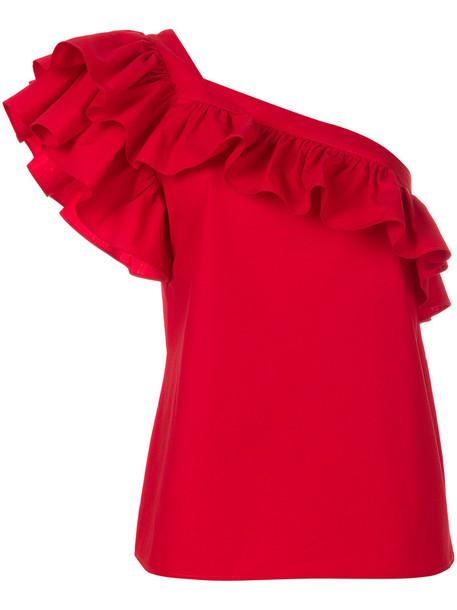 Philosophy di Lorenzo Serafini top women cotton red